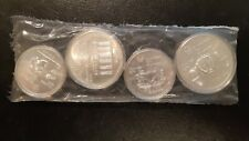 1976 MONTREAL OLYMPICS SERIES #2 1974 SILVER PL SET SILVER COINS UNCIRCULATED