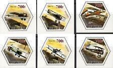 Tschad Wabenmarken Airplane Kriegsflugzeuge I. WK
