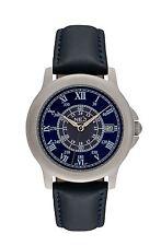 NEO watch BLUE ROMANCE Damenuhr Armbanduhr Lederarmband dunkelblau N5-014