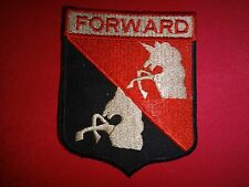 US Army 3rd Squadron 17th Cavalry Regiment FORWARD Patch