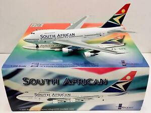 Inflight 1:200 South African BOEING 747SP-44 ZS-SPE
