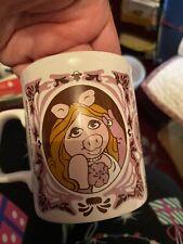 Miss Piggy The Muppet Show Vintage 1978 Coffee Cup Mug Jim Henson Kiln Kraft