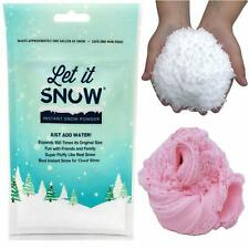 Instant Snow Powder for Slime - Let it Snow Perfect Fake Snow for Cloud Slime