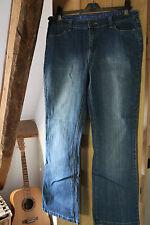 Debenhams Ladies bootcut stretch blue jeans  Size 14