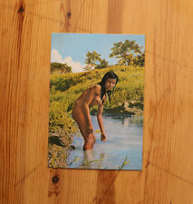 Carte Postale PERU IQUITOS Jeune Indienne au Bain / Femme Perou Ethnique