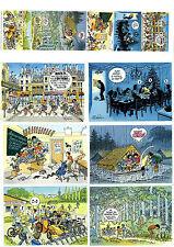BD Lot CP Cartes postales SCOUT Bernard Dufossé 1995