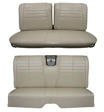 1964 Impala Coupe Front & Rear Bench Seat Upholstery in Your Choice of Color