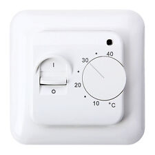 Digital Manual Thermostat For Underfloor Electric Heating Systems 16Amp Room  UK