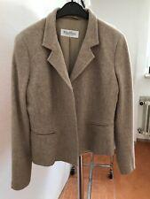 MAX MARA Damenjacke Blazer Jacket Gr. 40 Schurwolle Angola Mischung