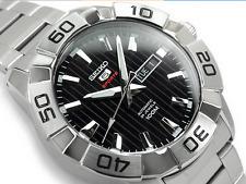 NEW 2016 Seiko 5 Sports Men SRPA51K1 Automatic 24 Jewels 100M Watch