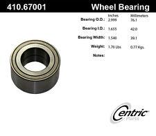 Centric Parts 410.67001 Front Wheel Bearing Set