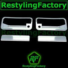 88-98 GMC C1500+C2500+C3500 Triple Chrome Plated 2 Door Handle+PSG Keyhole Cover