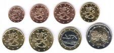 Finlandia 2005-Juego de 8 monedas de Euro (UNC)