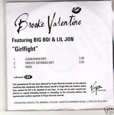 (H166) Brooke Valentine, Girlfight - Dj Cd