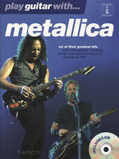Reproducir música Guitarra con Metallica Tab Libro/Play-a lo largo de CD