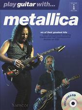 Play Guitar with Metallica TAB Music Book/Play-Along CD