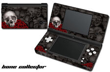 Skin Decal Wrap for Nintendo DSI Gaming Handheld Sticker BONE COLLECTOR BLACK