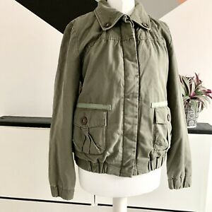 ALPHA INDUSTRIES Bomber Jacket Size Small Green | SMART Casual