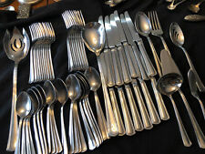 Huge Reed & Barton Stainless Flatware Possibly Palladian 60 Piece