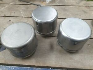 3 Fordson E27N or N Air Cleaner tops for vintage antique tractor