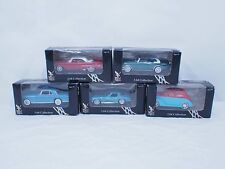 1/64 lot of 5 classic cars corvette CADILLAC Ford Lincoln