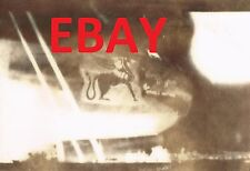 WWII VINTAGE PHOTO USAAF B-29 BOMBER AT NORTH FIELD GUAM UNIDENTIFIED NOSE ART