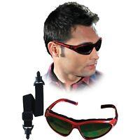Schutzbrille Augenschutz Gummiband Bügel Getönt Rot Profi Qualität NEU OVP
