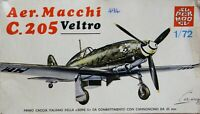 Super Model 1/72 Aer Macchi C.205 Veltro unmade complete sealed bag