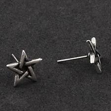 stud earrings Halloween Mini peweter star pentagram
