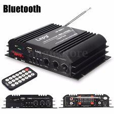 Digital Home Auto Car Subwoofer HiFi Bluetooth Stereo Audio Amplifier 45W x