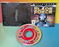 Blade Force Panasonic 3DO - Game, Manual, Case, Cover Art Rare Complete Tested