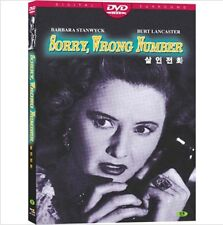 Sorry, Wrong Number (1948) DVD (NEW) / NO CASE (Only Cover & Disc)