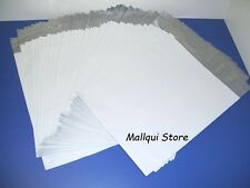 100 MAILER 19x24 WHITE POLY BAGS MAILING SHIPPING PLASTIC ENVELOPES - 2.5 Mil