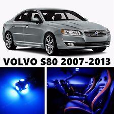 12pcs LED Blue Light Interior Package Kit for VOLVO S80 2007-2013