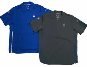 NEW NIKE Indianapolis Colts Hot Grey Football Pullover Qtr Zip Jacket New NFL