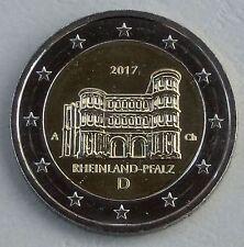 2 euros Alemania a 2017 Rheinland-Pfalz/porta Nigra unz.