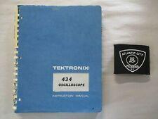 Tektronix 434 Oscilloscope Instruction Service Manual 070 1131 00