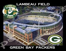 WI - GREEN BAY PACKERS Lambeau Field #1 - Travel Souvenir Flexible Fridge Magnet