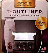 ANDIS T-OUTLINER CARBON LONG LIFE  BLADE #04521 UPC, 040102045219 MADE IN USA