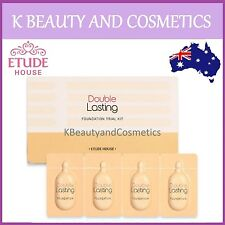 [Etude House] Double Lasting Foundation Trial Kit Sample 1 pack (4 Colours)