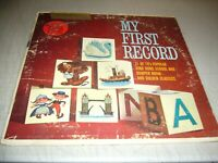 MY FIRST RECORD VOL 3 YOUNG PEOPLE LP VG+ Golden Record Library BRC-V-3 1962