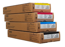 4  x Original Epson Tinte SC-F2000 SC6BK60 / T7251 T7252 T7253 T7254 INK 600ml