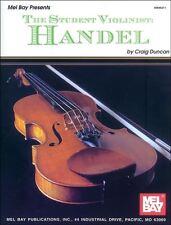 El estudiante Violinista: Handel