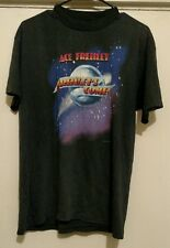 Ace Frehley Frehley's Comet Black Short Sleeve Handtex T-shirt Size XL/M (1987)