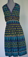 NWT M MISSONI V BACK DRESS IN TEAL SIZE IT 46