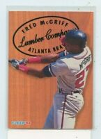 FRED MCGRIFF 1993 Fleer Baseball  Lumber Company Insert Card #7 Atlanta Braves