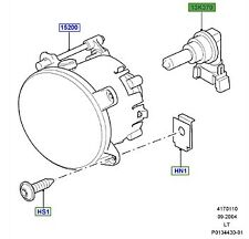LAND ROVER GENUINE PART-HOLDER BULB -Range Rover Sport (L320)- XZQ000110