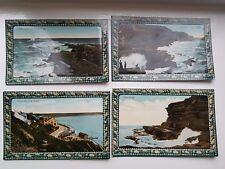 4 x Vintage Filey Brigg Yorkshire Postcards Valentine Series