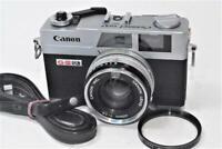 """NEAR MINT +++"" Canon Canonet QL17 G-Ⅲ Rangefinder Film Camera /40mm F1.7 Lens"