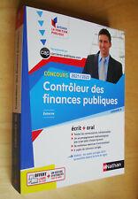Concours 2021/2022 Contrôleur des finances publiques externe écrit + oral 2021
